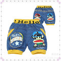 jeans good quality material cartoon design boys shorts wholesale available