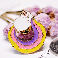 Lovely and Cute Kitty Unicorn Pin