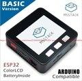 M5Stack расширяемый модуль микроуправления Wi-Fi Bluetooth ESP32 комплект разработки встроенный 2-дюймовый ЖК-ESP-32 ЖК-дисплей ESP8266