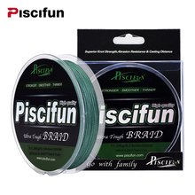 Piscifun 500M PE Braided Fishing Line 10lb 20lb 25lb 30lb 40lb 45lb 50lb 60lb 80lb Super Strong Multifilament Fishing Line