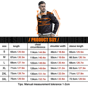 Image 5 - FREE SOLDIER outdoor sports tactical military mens uniform jacket pilot cloth for camping or hiking large size