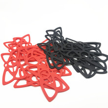 Ram جبل X قبضة السيليكون دراجة نارية حامل مزوّد بمسند للهاتف X قبضة ل gopro فون 7/7 زائد/8 الأحمر الأسود