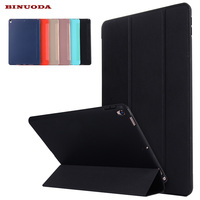 For New IPad Pro 10 5 Case Ultra Slim Lightweight Smart Case Trifold Stand TPU Back