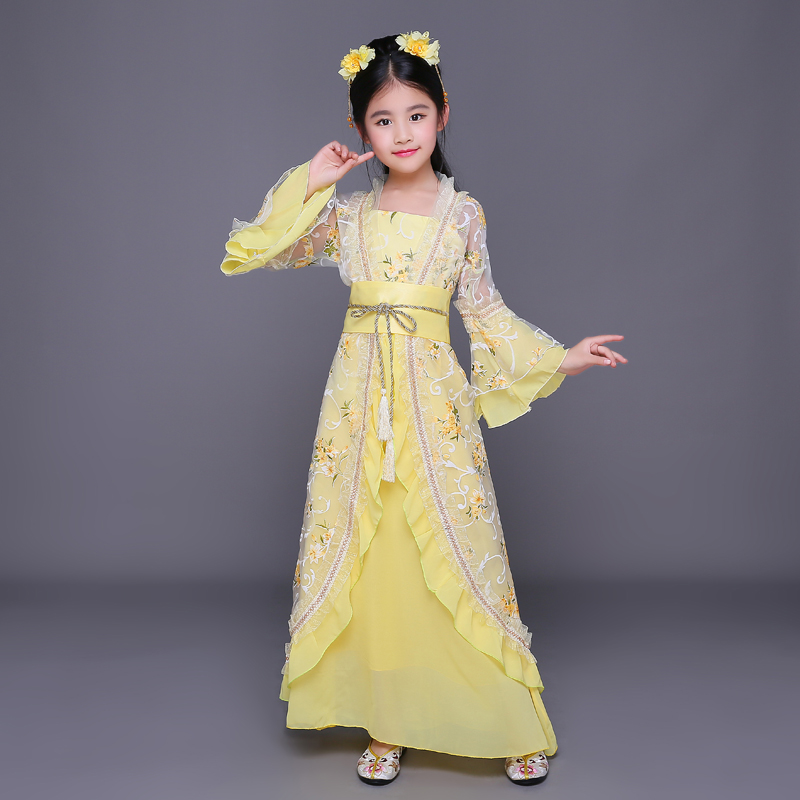 2018 spring chinese dance costumes children traditional chinese dance costume girls traditional ancient chinese clothing hanfu boys costumes scholar costumes chivalrous person costumes novelty costumes ancient chinese wear