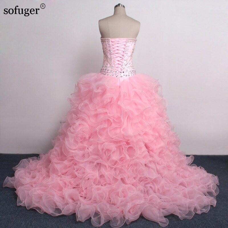 ddb95a71d7d Удивительный розовый бальное платье Пышное Платье Vestidos De 15 anos Милая  С Съемная юбка 2 шт. для выпускного Платья для вечеринок