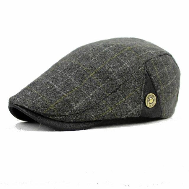 Dt591 lane di modo feltro gatsby newsboy cap uomini lana ivy hat Driving  Appartamento Cabbie cappello 90d8a9274e84