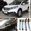 4pcs Blade Side Windows Deflectors Door Sun Visor Shield For Honda CRV  2007-2014