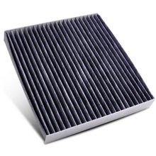 1pc Carbon Fiber Cabin Air Filter 87139-50060 87139-YZZ08 21.2*19.4*2.8cm Cabin Air Filter accessories For Toyota RAV4