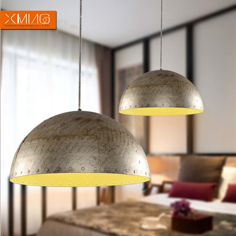 Vintage Pendant Light Fixtures Metal Industrial Hanging Lamp For Living Dining Room Bar Decoration E27 Rustic Lighting In Lights From