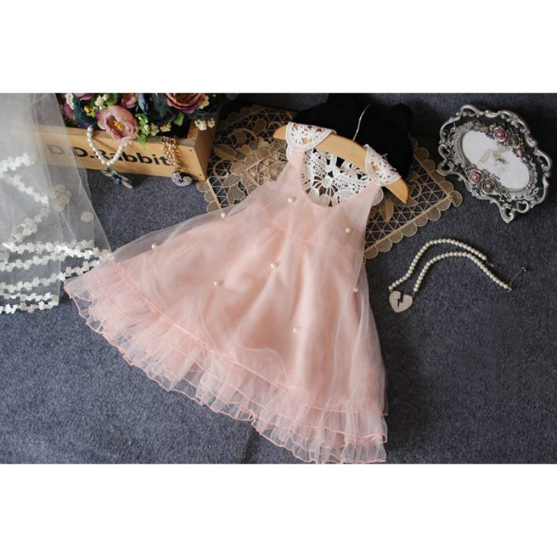 Fashion kids clothes Flower Girl Spring Summer Princess Dress Kid Baby FormalParty Wedding Lace Tulle Tutu Dresses 11
