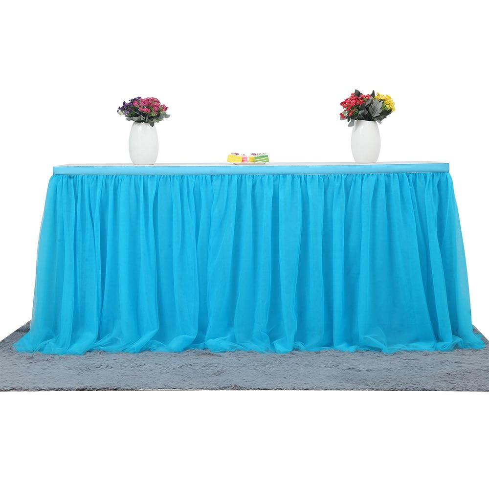 Tutu Tüll Tabelle Rock Tuch Für Hochzeitsfest Tabelle Tischdecke ...