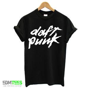 Мужская футболка DAFT, футболка с принтом в стиле панк, Электронная, домашняя, музыкальная, живая, для танцев, диджея, унисекс, большой размер и Colors-A207