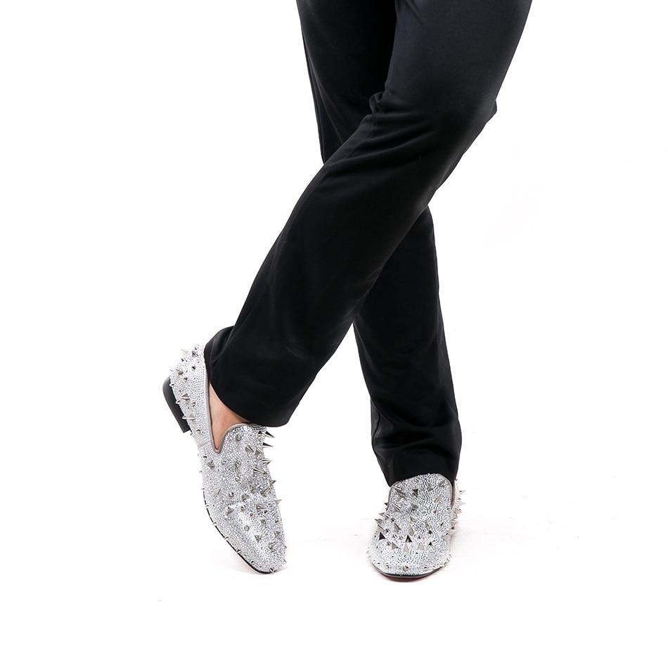 2018 Deux Véritable Mocassins Bal De En Taille Nouvelle Chaussures Avec Pointes Mode Couleurs Piergitar Plus ivoire Et Longues Or Banquet Hommes Cuir tdxTqSwcX