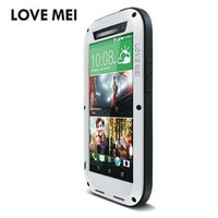 M8 Original Love Mei Waterproof Case For HTC One M8 Cases Dropproof Aluminum Cover Case For