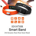 Smart Wristband ID 107 ID107 Watch Heart Rate Monitor Remote Bluetooth Smart Bracelet Pedometer Fitness Smart Band Reminder