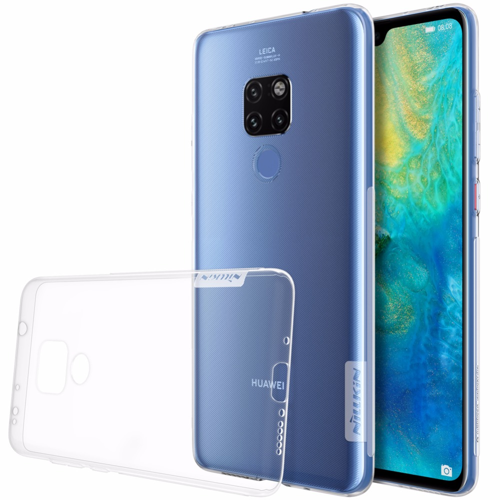 case for Huawei Mate 20 /Mate 20 pro NILLKIN Nature TPU clear Transparent soft case back cover with retailed package