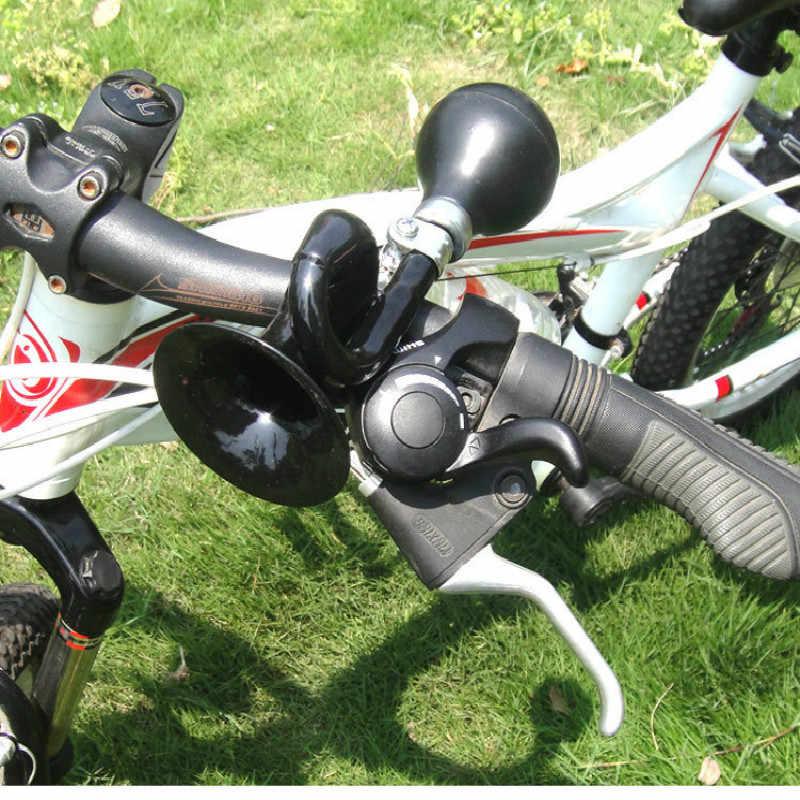 الرجعية جرس الدراجة المعدنية الهواء القرن دراجة جرس إنذار الدراجات أجراس دراجة اكسسوارات الدراجة الهواء القرن
