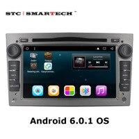 2Din Android 6.0.1 Car dvd player gps cho Vauxhall/Opel/Antara/VECTRA/ZAFIRA/Astra H G J 7 inch Quad Core đài phát thanh xe với CAN-BUS