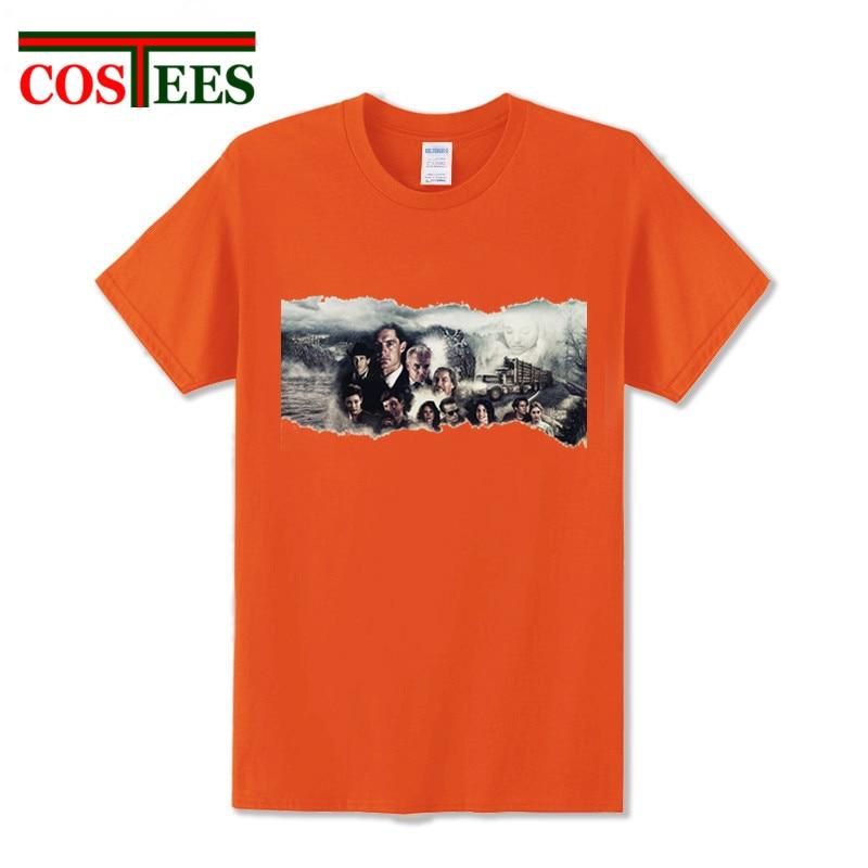 Wholesale Twin Peaks mens t shirt 2017 fashion Twin Peaks shirt funny t shirts brand streetwear clothing Twin Peak t-shirt homme