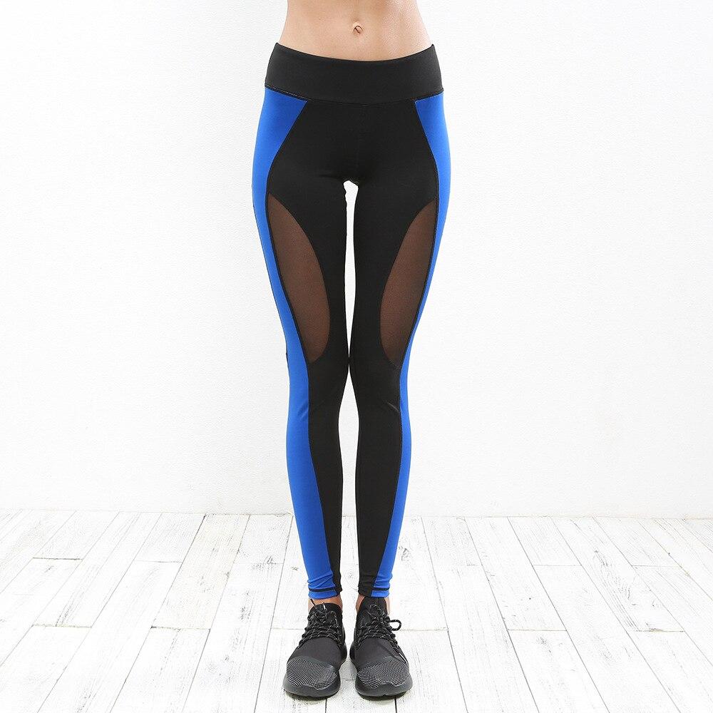 Female Costumes Women Leisure Leggings Breathable Slim Fitness Gym Running Pant Ladies Girls Elastic Waist Jogging Trousers 2018
