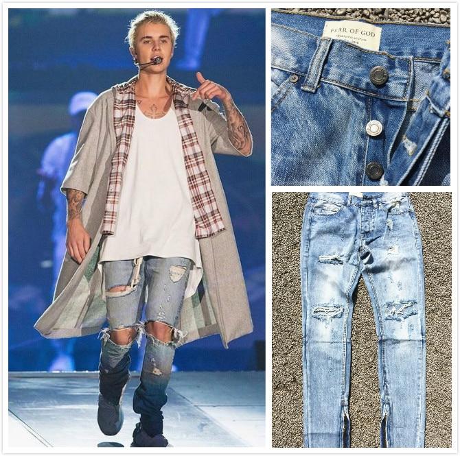 kanye west denim jumpsuit designer clothes rockstar justin ...