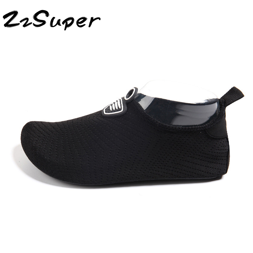 Summer Kids and Adult Swim Shoes Aqua Slippers for Beach Slip on Waterpark  Sandals EUR 26-45 Family Matching Water Surfing Shoes