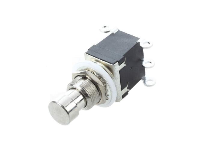 Effect device foot switch DPDT Momentary without lock 6 foot pin button switch image