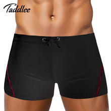 Taddlee Model Sports activities Swimwear Males Swimsuits Swimming Boxers Trunks Surf Board Shorts New Males's Swim Put on Homosexual Seaside Bathing Put on