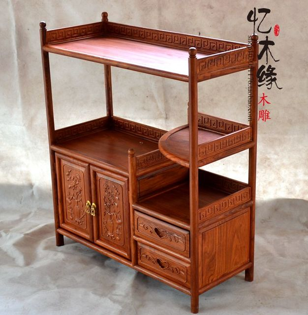 Chinese Wood Kitchen Cabinet Tea Cabinet Antique Mahogany Furniture Cabinet  Cabinet Cabinet Cabinet Cabinet Food Pantry