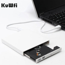 Внешний оптический привод DVD rom CD RW USB 2,0 CD/DVD плеер комбо ридер записи Portatil для MAC OS для MacBook Windows10/7/8