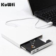 Внешний оптический привод DVD-ROM CD RW USB 2,0 CD/DVD плеер комбинированный считыватель запись Portatil для MAC OS для MacBook Windows10/7/8