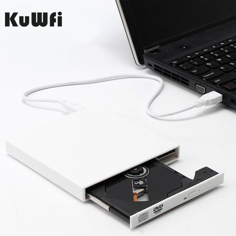 Leitor combinado externo do cd rw usb 2.0 da rom de dvd da movimentação ótica dvd/leitor de dvd write portatil para mac os para macbook windows10/7/8