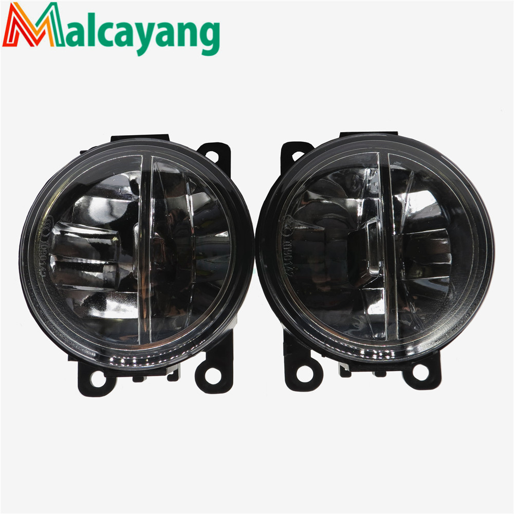 1set Car-styling LED fog lamps10W high brightness lights For Suzuki Grand Vitara 2 ALTO 5 SWIFT 3 JIMNY FJ 1998-2015 for suzuki jimny fj closed off road vehicle 1998 2013 10w high power high brightness led set lights lens fog lamps