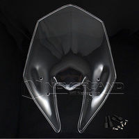 2015 Motorcycle Windshield WindScreen Double Bubble For Kawasaki Z800 2013 2014 13 Transparent Free Shipping C10