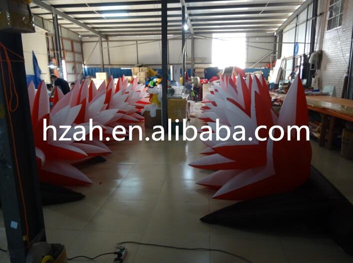 New Design Big Inflatable Flower Wedding Flower Chain big wedding inflatable flower nice inflatable artifical flower