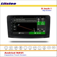 Liislee Car Android GPS Navigation System For Mercedes Benz GL Class X164 GL350 GL420 2006~2012 Radio Stereo Video No DVD Player