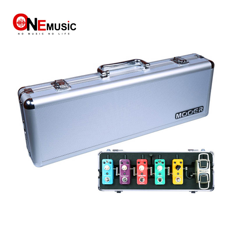 Mooer Second Generation Guitar Pedal Box Flight Case Firefly M6 Guitar Effect Pedal Case For Mooer Series Pedal