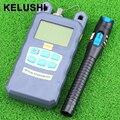 KELUSHI Medidor de Potencia de Fibra Óptica (-$ number dbm ~ 10 dbm) fibra de Potencia 1 mW Visual Fault Locator Fiber Optic Cable Tester 5 KM De Plástico