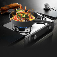 Black gold frying pan high end durable non lampblack household cookware gas induction cooker universal non stick pan LM12181412