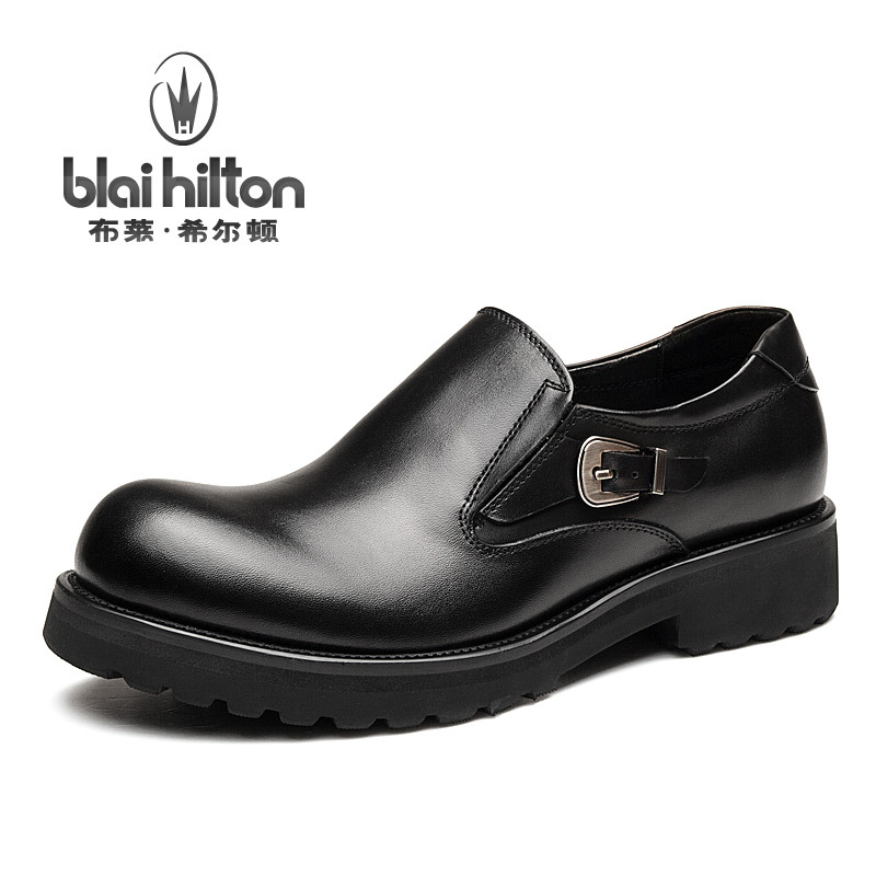 Blai Hilton 2017 New Fashion Spring/Autumn men shoes Genuine Cow Leather shoes Breathable/Comfortable Men's Casual Shoes 2017 fashion red black white men new fashion casual flat sneaker shoes leather breathable men lightweight comfortable ee 20