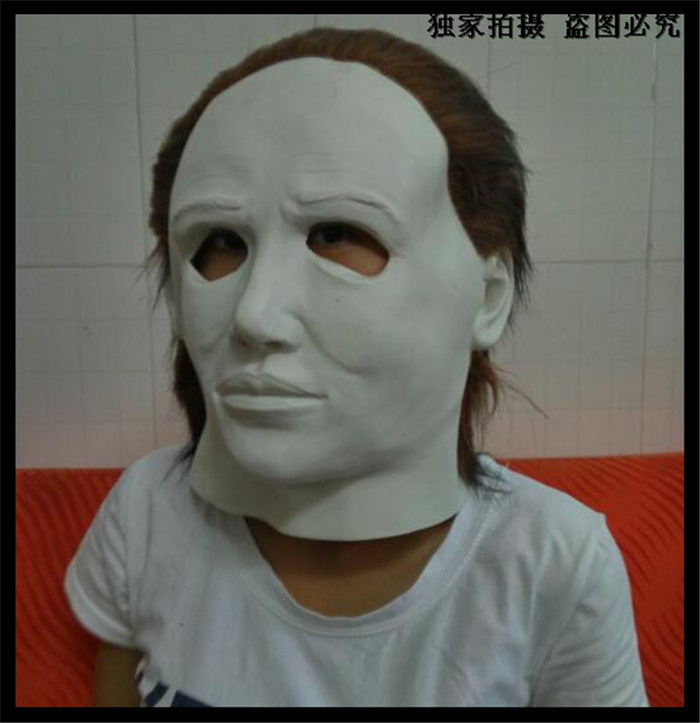 Free shipping Hot Sale Halloween Party Cosplay Popular Movie Michael Myers Mask Halloween Custom Mask Party Movie Face Head Mask