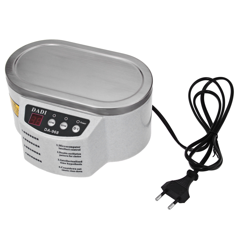 30W/50W Mini Ultrasonic Cleaner Bath Cleaning Jewelry Watch Glasses Circuit Board limpiador ultrasonic Cleaning Machine - intl