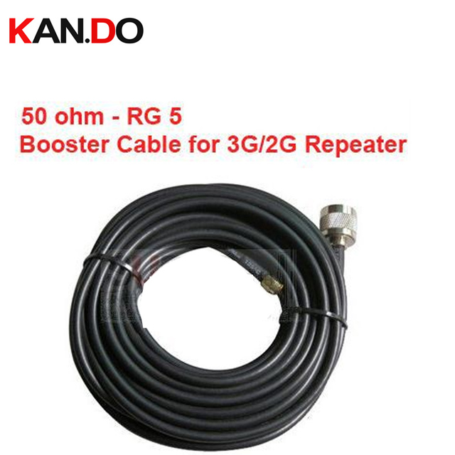5 Meter repeater use 50 5 Coaxial Cable 50Ohm N F connector,50 FD ...