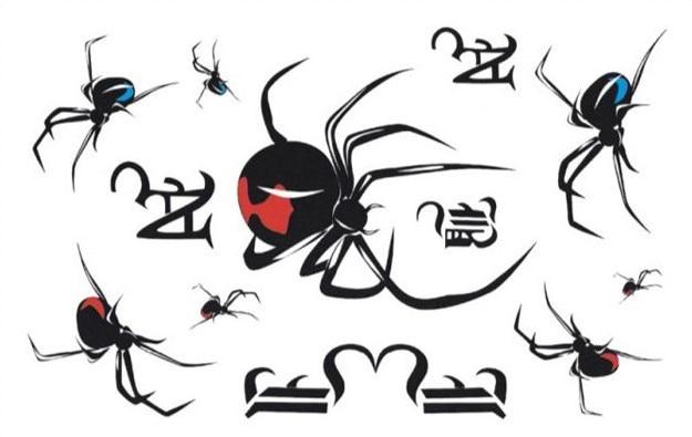 Popular Black Widow Tattoo Designs-Buy Cheap Black Widow Tattoo ...