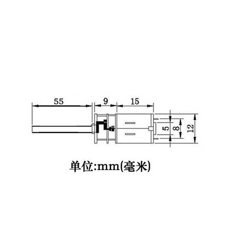 Detail Feedback Questions about DC 12V 400RPM N20 Micro Gear Motor