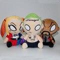 Suicide Squad Joker Harley Quinn Deadshot Plush Toys Soft Stuffed Dolls 3pcs/lot 21cm
