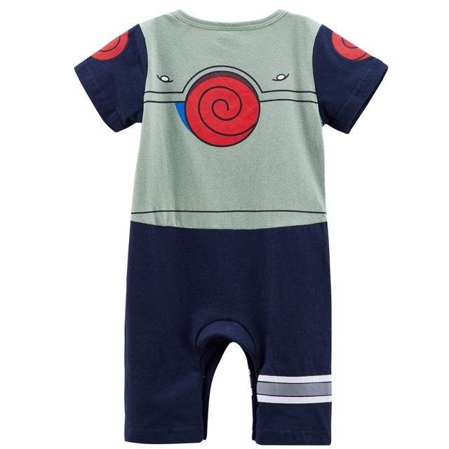 Bébé Garçon Uzumaki Naruto Costume Barboteuse Drôle Mignon Infantile Combishort 0-24 M