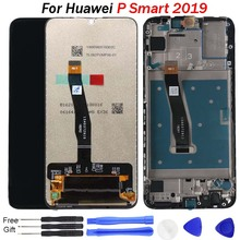 Original for Huawei P Smart 2019 LCD Display Digitizer Assembly Touch Screen with frame 10 Repair Part