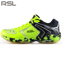Original RSL Men's woman Saga Light Badminton Shoes Training Breathable Anti Slippery Light Sneakers Sport Shoes RSL 0115