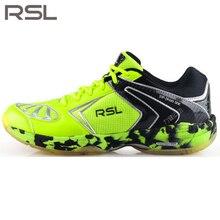 Original RSL Men's woman Saga Light  Badminton Shoes Training Breathable Anti-Slippery Light Sneakers Sport Shoes RSL 0115